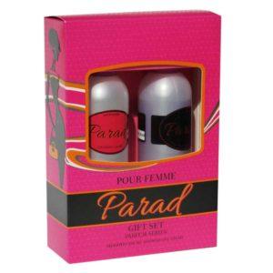 Набор косметический парфюмерный для женщин Parad (шампунь 250 мл + гель для душа 250 мл) 9