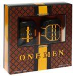 Набор косметический парфюмерный для мужчин One Men (шампунь 250 мл + гель для душа 250 мл) 1