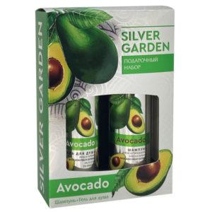 Silver Garden Набор подарочный Авокадо (шампунь 250 мл + гель для душа 250 мл) 15
