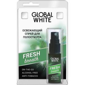 Global White Спрей для полости рта освежающий Fresh Breath, 15 мл 1