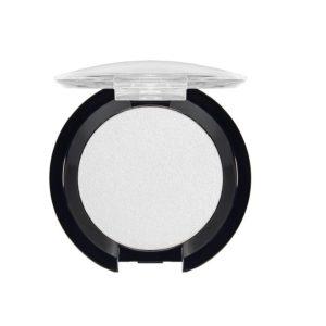 Dilon Профессиональные компактные тени сверхтонкой текстуры Easy Look для век с УФ-фильтром, тон 101 Белый перламутр, 4 г 12