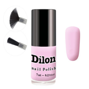 Dilon Матовый лак для ногтей тон 2820, 7 мл 4