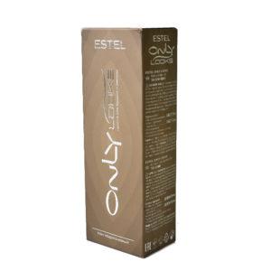 Estel Краска для бровей и ресниц Only Looks (красящая основа 50 мл, проявляющая эмульсия 30 мл + мисочка + палочка), тон 602 коричневый 52