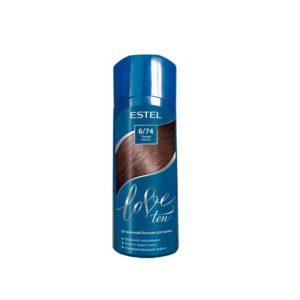 Estel Love Ton бальзам оттеночный для волос без аммиака, тон 6/74 тёмный каштан 12