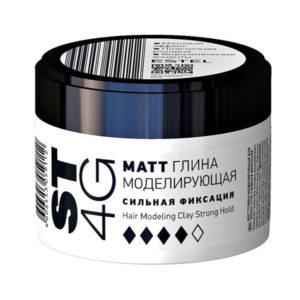 Estel Глина моделирующая для коротких волос Matt ST 4G, сильная фиксация, 65 мл 10