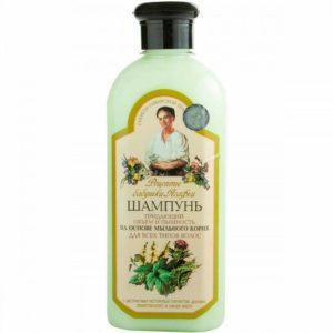 """Рецепты Бабушки Агафьи Шампунь """"объем и пышность"""" для всех типов волос на основе мыльного корня, 350 мл 84"""