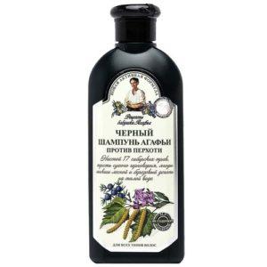 Рецепты Бабушки Агафьи Черный шампунь на талой воде против перхоти для всех типов волос, 350 мл 56