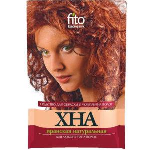 Fito косметик Хна иранская натуральная для любого типа волос, 25 г 6