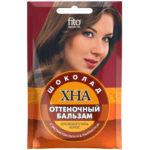 Fito косметик Бальзам оттеночный хна с экстрактом льна и Д-панетенолом цвет шоколад, 50 мл 1