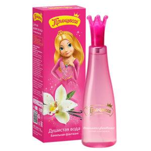 Принцесса Детская душистая вода Ванильная фантазия, без спирта, 75 мл 12