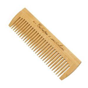 Cute-Cute Гребень без ручки для расчёсывания волос (дерево) 17