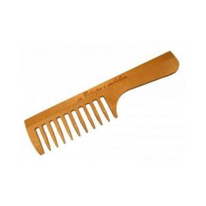 Cute-Cute Гребень с ручкой для расчёсывания волос (дерево) 2