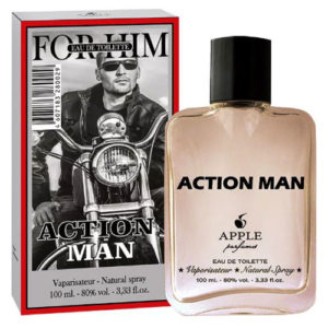Apple Parfums Туалетная вода для мужчин For Him Action Man (Экшен Мэн Фор Хим), 100 мл 6