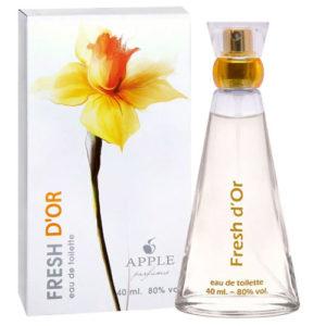 Apple Parfums Туалетная вода для женщин Fresh D'or (Фрэш Д'ор), 40 мл 4
