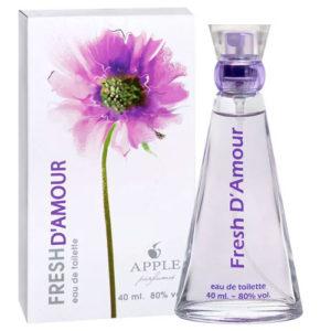 Apple Parfums Туалетная вода для женщин Fresh D'amor (Фрэш Д'амур), 40 мл 46