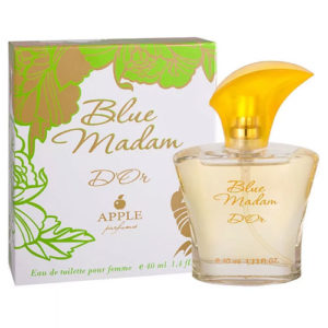 Apple Parfums Туалетная вода для женщин Blue Madam D'or (Блю Мадам Дор), 40 мл 26