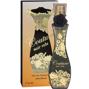 Apple Parfums Туалетная вода для женщин Couture Noir Robe (Кутюр Нуар Робэ), 50 мл 3