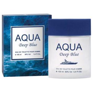 Apple Parfums Туалетная вода для мужчин Aqua Deep Blue (Аква Дип Блю), 100 мл 59