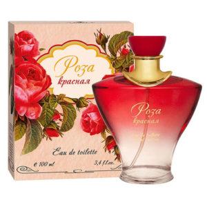 Apple Parfums Туалетная вода для женщин Роза Красная, 100 мл 55