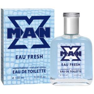 Apple Parfums Туалетная вода для мужчин X-man Eau Fresh, 100 мл 90