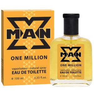 Apple Parfums Туалетная вода для мужчин X-man One Million, 100 мл 5