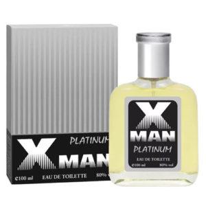 Apple Parfums Туалетная вода для мужчин X-man Platinum, 100 мл 93