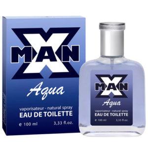 Apple Parfums Туалетная вода для мужчин X-man Aqua, 100 мл 88