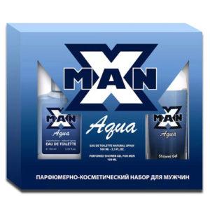 Apple Parfums Набор X-man Aqua, 1 шт 6