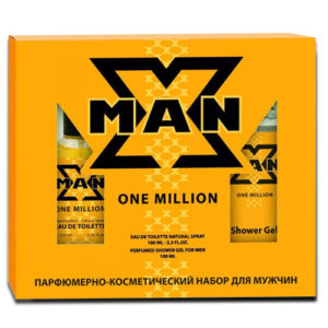 Apple Parfums Набор X-man One Million, 1 шт 31