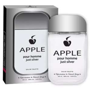 Apple Parfums Туалетная вода для мужчин Pour Homme Just Silver, 100 мл 4