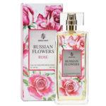 Sergio Nero Туалетная вода для женщин Russian Flowers Rose (Рашин флауас роуз), 100 мл 2
