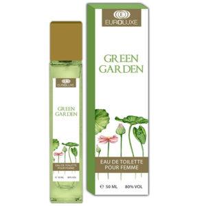 Euroluxe Туалетная вода для женщин Green Garden цветочный фруктовый, 50 мл 12