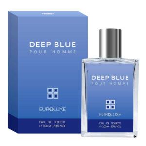 Euroluxe Туалетная вода для мужчин Deep Blue, 100 мл 5