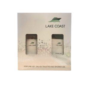 Euroluxe Набор парфюмерно-косметический для мужчин Lake Coast (туалетная вода 80.0% edt, 100 мл; гель для душа парфюмированный, 150 мл) 3