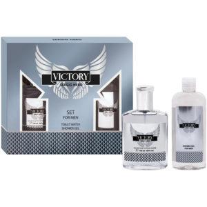 Euroluxe Набор парфюмерно-косметический для мужчин Victory For Men (туалетная вода 80.0% edt, 100 мл; гель для душа парфюмированный, 150 мл) 7