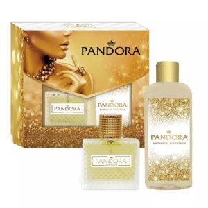 Набор парфюмерно-косметический для женщин Pandora (edt 80.0%, 50 мл + парфюмированный гель для душа, 150 мл) 9