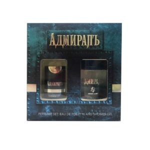 Sergio Nero Набор парфюмерно-косметический для мужчин Адмиралъ (edt 80.0%, 100 мл + парфюмированный гель для душа, 150 мл), 1 шт 11