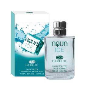 Euroluxe Туалетная вода для мужчин Aqua Ice (Аква айс) свежий, фужерный, спрей 100 мл 4