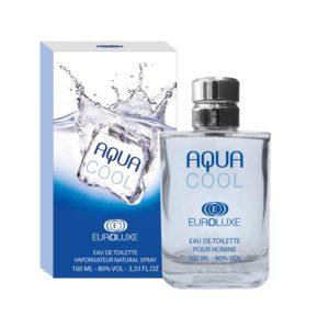 Euroluxe Туалетная вода для мужчин Aqua Cool (Аква кул) свежий, морской, фужерный, 100 мл 5