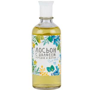 Ponti Parfum Лосьон с шалфеем, чередой и мятой, 100 мл 4