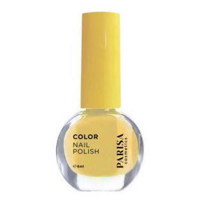 Parisa Лак для ногтей Color Nail Polish, тон 111 жёлтая слива 5