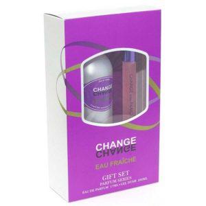 Набор косметический парфюмерный для женщин Change eau Fraiche (гель для душа 250 мл + парфюмерная вода 17 мл) 11