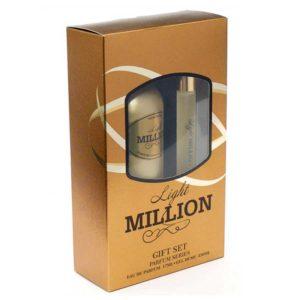 Набор косметический парфюмерный для женщин Light Million (гель для душа 250 мл + парфюмерная вода 17 мл) 8