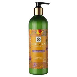 Floristica Provence Кондиционер для окрашенных и поврежденных волос увлажнение и восстановление вербена лимонная, бергамот, 345 мл 5