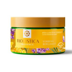 Floristica Provence Крем для тела сорбет Интенсивное питание вербена лимонная, бергамот, 250 мл 4