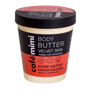 Cafe Mimi Крем-баттер для тела Манго и Клементин, 220 мл 4