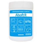 Saraya Alsoft R Дезинфицирующее средство (салфетки) 13.5 х 18 см, 90 шт 2
