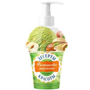 Народные рецепты Крем-мыло жидкое для рук фисташковое мороженое, 320 мл 6