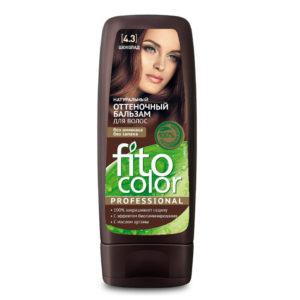 Фитокосметик Fito color Бальзам оттеночный натуральный для волос, тон 4.3 шоколад, 140 мл 23