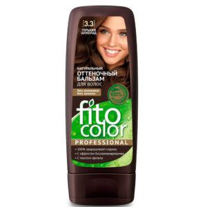 Фитокосметик Fito color Бальзам оттеночный натуральный для волос, тон 3.3 горький шоколад, 140 мл 10